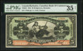 Canadian Currency: , Bridgetown, Barbados- The Canadian Bank of Commerce $5 Jan. 2, 1922Ch. 75-20-04 Barbados Issue. ...
