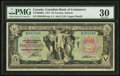 Canadian Currency: , Toronto, ON- The Canadian Bank of Commerce $5 Jan. 2, 1917 Ch. #75-16-04-06a. ...
