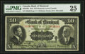 Canadian Currency: , Montreal, PQ- The Bank of Montreal $10 Nov. 3, 1914 Ch. # 505-54-08. ...