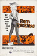"Movie Posters:Bad Girl, Born Reckless (Warner Brothers, 1959). One Sheet (27"" X 41""). Bad Girl.. ..."