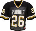 Football Collectibles:Uniforms, 1983-86 Rod Woodson Game Worn Purdue Boilermakers Jersey....