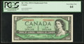 Canadian Currency: , BC-37bA $1 1954 Replacement. ...
