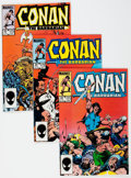Modern Age (1980-Present):Miscellaneous, Conan the Barbarian #171-188 Box Lot (Marvel, 1985-86) Condition: Average VF/NM....