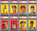 Baseball Cards:Lots, 1958 Topps Baseball Yellow Letter Partial Set (19/33). ...