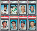 Baseball Cards:Lots, 1969 Topps Super Baseball PSA Mint 9 Collection (16). ...