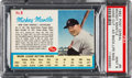 Baseball Cards:Singles (1960-1969), 1962 Post Cereal Mickey Mantle, Hand Cut Ad #5 PSA Mint 9....