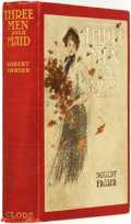 Books:Mystery & Detective Fiction, Robert Fraser, [pseudonym for M. P. Shiel and Louis Tracy].Three Men and a Maid. New York: Edward J. Clode Publishe...