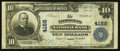 National Bank Notes:Maine, Pittsfield, ME - $10 1902 Plain Back Fr. 626 The Pittsfield NB Ch. # 4188. ...