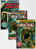 Bronze Age (1970-1979):Horror, Man-Thing #1-22 Complete Series Group (Marvel, 1974-75) Condition:Average FN+.... (Total: 27 Comic Books)