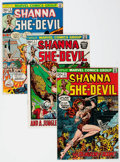 Bronze Age (1970-1979):Miscellaneous, Shanna the She-Devil #1-5 Complete Series Group (Marvel, 1972-73)Condition: Average FN/VF.... (Total: 5 Comic Books)