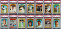 Baseball Cards:Sets, 1972 Topps Baseball High Grade Complete Set (787) - With 140 GradedCards! ...