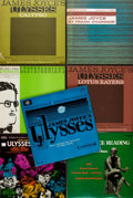 Books:Music & Sheet Music, [James Joyce]. [Vinyl Records - 33 1/3]. [Spoken Word, Literature, Soundtracks]. Group of Seven Vinyl Records Related to J... (Total: 7 Items)