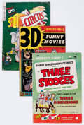 Golden Age (1938-1955):Miscellaneous, Golden Age 3-D Comics Group of 4 (Various Publishers, 1950) Condition: Average VG.... (Total: 4 Comic Books)