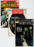 Bronze Age (1970-1979):Horror, Sinister House of Secret Love/Secrets of Sinister House CompleteRun Group of 18 (DC, 1971-73) Condition: Average FN+.... (Total: 18Comic Books)