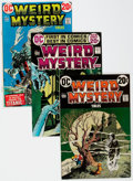 Bronze Age (1970-1979):Horror, Weird Mystery Tales #1-24 Complete Run Group (DC, 1972-75)Condition: Average FN.... (Total: 24 Comic Books)