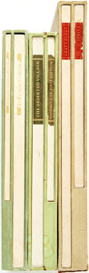 Books:Literature Pre-1900, [Thomas Gray, Oliver Goldsmith, Alexander Pope]. Trio of LIMITEDEditions. San Francisco: Printed for William Andrews Clark,...(Total: 6 Items)