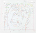 Animation Art:Production Drawing, Street Fighter Zero Ryu Anime Animation Drawings, PrelimDrawings, and Studio Folder Group of 10 (Group TAC, 2000). ...(Total: 34 Items)