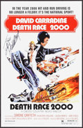 """Movie Posters:Science Fiction, Death Race 2000 (New World, 1975). Autographed Promotional Poster(11"""" X 17""""). Science Fiction.. ..."""