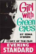 """Movie Posters:Drama, Girl with Green Eyes by Edna O'Brien (The Evening Standard, 1964). British Newstand Poster (19.75"""" X 30""""). Drama.. ..."""