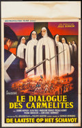 "Movie Posters:Foreign, The Carmelites (Metropolitan Films, 1960). Belgian (13.75"" X 21.75""). Foreign.. ..."