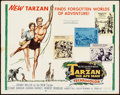 "Movie Posters:Adventure, Tarzan the Ape Man & Others Lot (MGM, 1959). Half Sheet (22"" X28""), One Sheets (2) (27"" X 41""), and Lobby Cards (4) (11"" X ...(Total: 7 Items)"