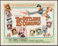 "Movie Posters:Comedy, The Outlaws is Coming (Columbia, 1965). Half Sheet (22"" X 28""). Comedy.. ..."