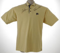 Golf Collectibles:Autographs, Jack Nicklaus and Tom Watson Signed Shirt. Two legends of the linkshave left their mark on this polo from the 2001 U.S. Se...