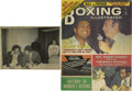 Boxing Collectibles:Autographs, 1974 Muhammad Ali Signed Boxing Illustrated Magazine with Vintage Photograph. Published during the buildup for the famed Al...