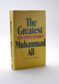 "Boxing Collectibles:Autographs, 1976 Muhammad Ali Signed ""The Greatest"" Book. This 1976 edition of the Muhammad Ali book ""The Greatest: My Own Story"" has b..."