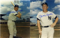"Autographs:Photos, Mickey Mantle Signed Photographs Lot of 2. Each of these two 8x10""prints have been graced with a pristine blue sharpie sig..."