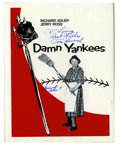 "Autographs:Others, Baseball Stars Signed ""Damn Yankees"" Displays Lot of 50.Interesting art project took various players (and non-players)and..."
