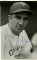 Autographs:Photos, Carl Hubbell Signed Photograph. A wizard on the mound, Carl Hubbelldazzled hitters with his devastating screwball. The HO...