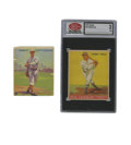 Baseball Cards:Lots, 1933 Goudey Jimmy Foxx #29 SCD VG 3 & Lefty Grove #220. Two of the more notable players of the era are represented here fro... (Total: 2 items)