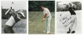 "Golf Collectibles:Autographs, Golf Greats Signed Photographs Lot of 30. Many great golfers arerepresented in this lot of signed 8x10"" photographs. High..."