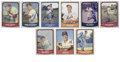 Autographs:Sports Cards, 1988 Pacific Signed Cards Group Lot of 38. Each of the 38 cardshere from Pacific Trading Cards has been signed by a baseba...