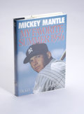 Autographs:Others, Mickey Mantle Signed Book. Written with New York Daily Newssportswriter Phil Pepe, this biography is a look back to Mantle...