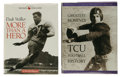 Football Collectibles:Others, SMU and TCU Signed Memorabilia Lot of 3. Offered here are two books that celebrate the legacy of collegiate football in the... (Total: 3 Items)