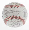 Autographs:Baseballs, 1991 Chicago White Sox Team Signed Baseball. Twenty-seven membersof the 1991 Chicago White Sox have added their signatures...