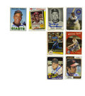 Autographs:Sports Cards, Baseball Stars Signed Cards Group Lot of 25. Each of these 25baseball cards has been signed by a star of the sport. Offer...