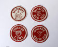 Baseball Collectibles:Others, 1958 Bazooka Baseball My Favorite Team Patches Lot of 15. Toppsoffered these patches via a mail-in offer found in Topps ba...