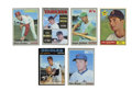 Baseball Cards:Lots, 1961-71 Baseballs Stars Group Lot of 6. Lot includes some of the most esteemed stars from the era. Includes: 1961 Topps #2...