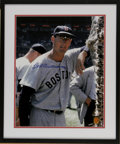 Autographs:Photos, Ted Williams Signed Photograph. This unique image is offered viathe Williams family-run Green Diamond Sports, Inc. and fea...