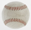Autographs:Baseballs, 1970 Pittsburgh Pirates Team Signed Baseball. Twenty-threesignatures from the 1970 Pittsburgh Pirates team that made it to...