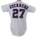 Autographs:Jerseys, Vladimir Guerrero Signed Jersey. Vladdy has furnished the reversenumerals of this exact replica Montreal Expos jersey. Je...