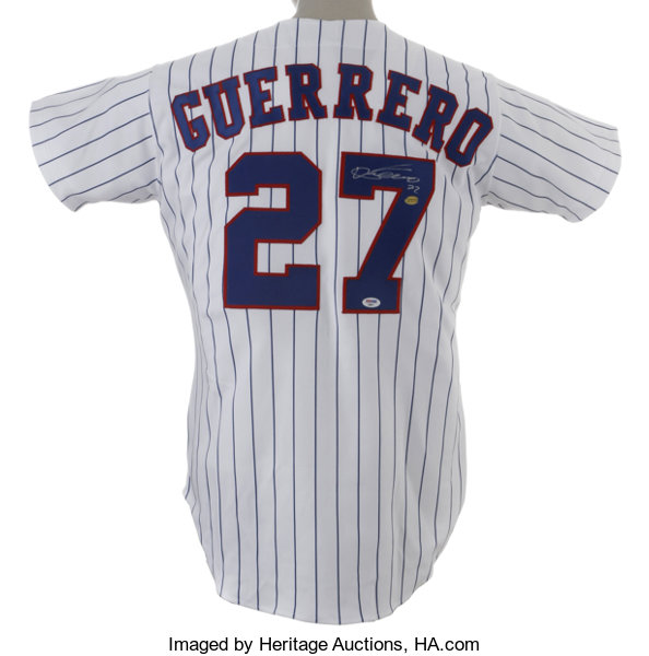 625a6bd69 Vladimir Guerrero Signed Jersey. Vladdy has furnished the