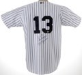 Autographs:Jerseys, Alex Rodriguez Signed Jersey. A-Rod is heralded to among the best players in the majors today. Here he has signed a beauti...