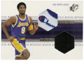 Basketball Collectibles:Others, 1999-00 SPx Winning Materials Kobe Bryant #WM4. This SPx card from1999-00 has inserts of both a game-worn Kobe shoe piece ...