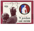 Basketball Collectibles:Others, 1999 Upper Deck Michael Jordan Master Collection Game Jerseys #MJGJ1. This card from Upper Deck's '99-2000 MJ Master Collec...