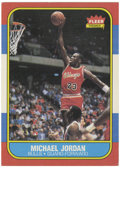 Basketball Cards:Singles (1980-Now), 1986-87 Fleer Basketball Michael Jordan #57. Who doesn't want to get their hands on the '86 Fleer Michael Jordan? This cov...