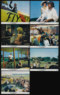 """Ace Eli and Rodger of the Skies (20th Century Fox, 1972). Mini Lobby Cards (7) (8"""" X 10""""). Cliff Robertson and..."""